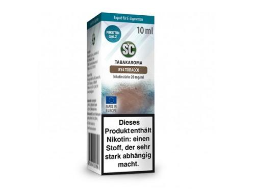 SC RY4 Tobacco Nikotinsalz Liquid 10 ml