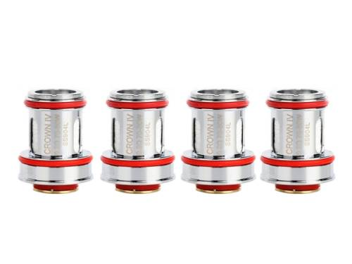 Uwell Crown 4 Heads/Coils (4 Stück pro Packung)